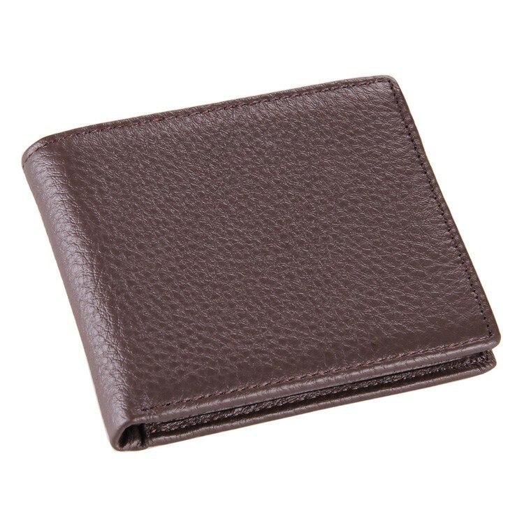 J. м. D Классическая Винтаж Стиль бумажник для businees человек 100% натуральная кожа деньги короткие бумажник держатель кредитной карты 8062c ...