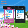 for hp 652 652XL ink cartridges black and color compatible For HP 3635,3636,3638 InkJet Printer Free Shipping Hot Sale New
