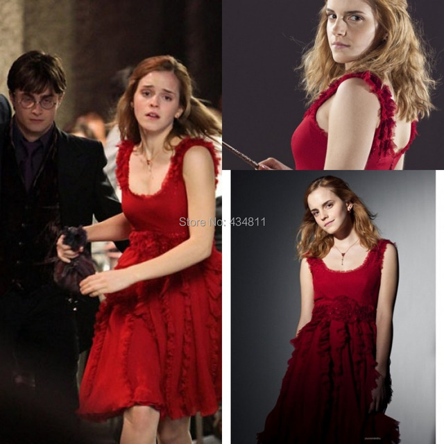 2014 Popular Emma Watson Beautiful Prom Dresses In Harry Potter And