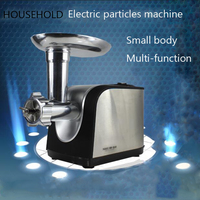 220V Stainless steel small household electric bird bait chicken feed dog and cat food pellet machine