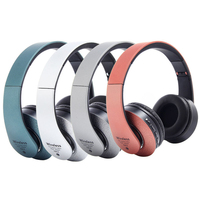 Bluetooth Headphone Foldable Mp3 Player With Mic Bluetooth Headphone Support FM Memory Card Wireless Headset Auricular