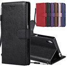 For Sony Xperia Z5 Case Leather Wallet Phone Case Sony Z3 Mini Case Luxury Flip Leather Cover For Sony Xperia Z3 Z5 Compact Case