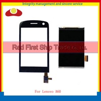High Quality 3 5 For Lenovo A60 Touch Screen Digitizer Sensor Lens Glass Panel Black White