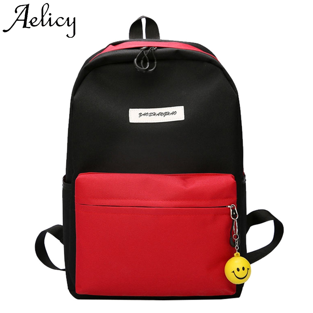Aelicy Fashion Women Large Capacity Shoulder Bag Student Backpack Travel Couple Travel Student Bag Flap Sport Phone PocketAelicy Fashion Women Large Capacity Shoulder Bag Student Backpack Travel Couple Travel Student Bag Flap Sport Phone Pocket