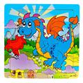 New Wooden Kids 16 Piece Jigsaw Toys For Children Education And Learning Puzzles Toys Baby Kids Game Gift wholesale