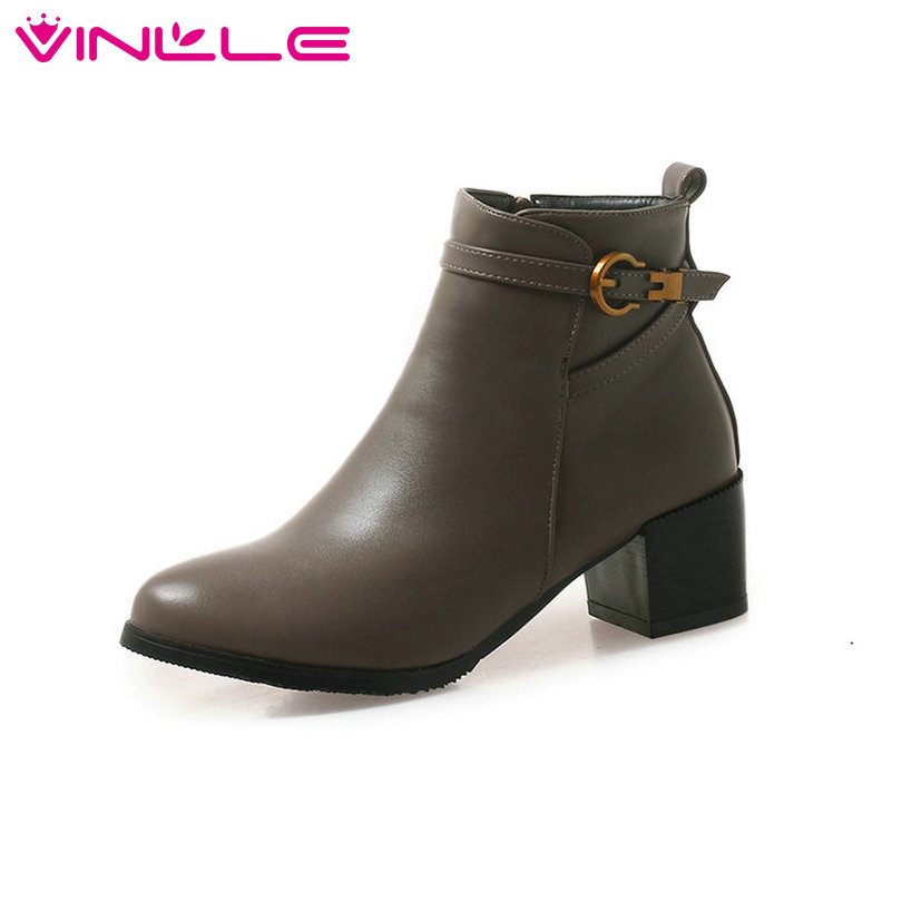 Aliexpress.com : Buy VINLLE 2019 Women Motorcycle Boots