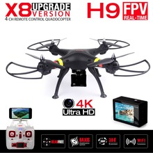 NEW SYMA X8W & X8 FPV RC Drone With 4K/1080P WIFI Camera 6-Axis RTF Dron RC Quadcopter Helicopter Holiday gift VS JJRC H8 H8C
