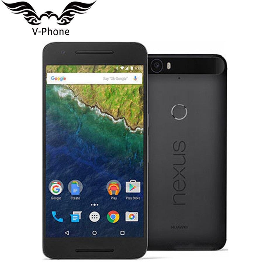 "Origianl New Nexus 6P Sprint Version Google hu aw ei Nexus 6P Mobile Phone 4G LTE 5.7"" Snapdragon Fingerprint Smart Phone"