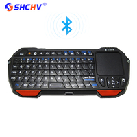 Mini Bluetooth V3 0 Keyboard With Built In Touchpad For PC Laptop Android Phone Google TV