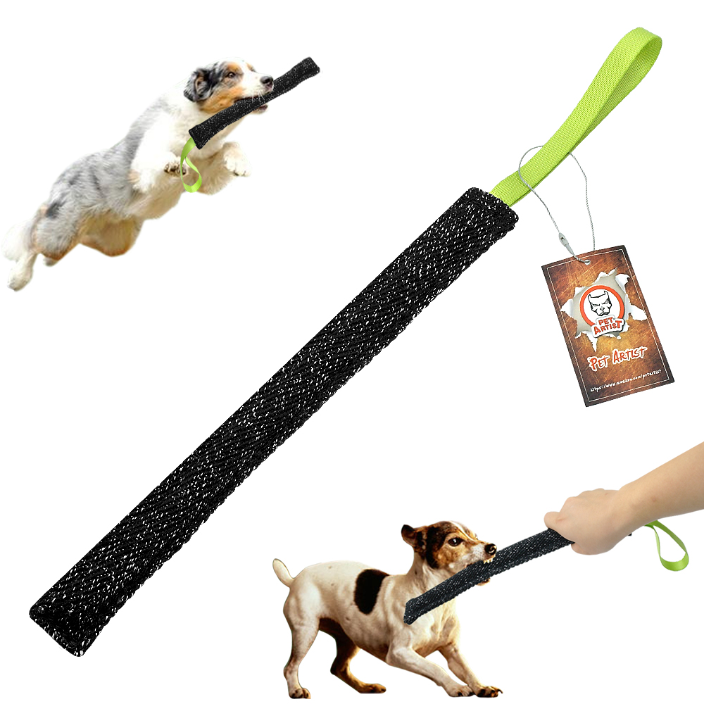 Dog Training Tug Toys: Interactive Dog Bite Toy Dogs Pet Training Tug Toy Stick