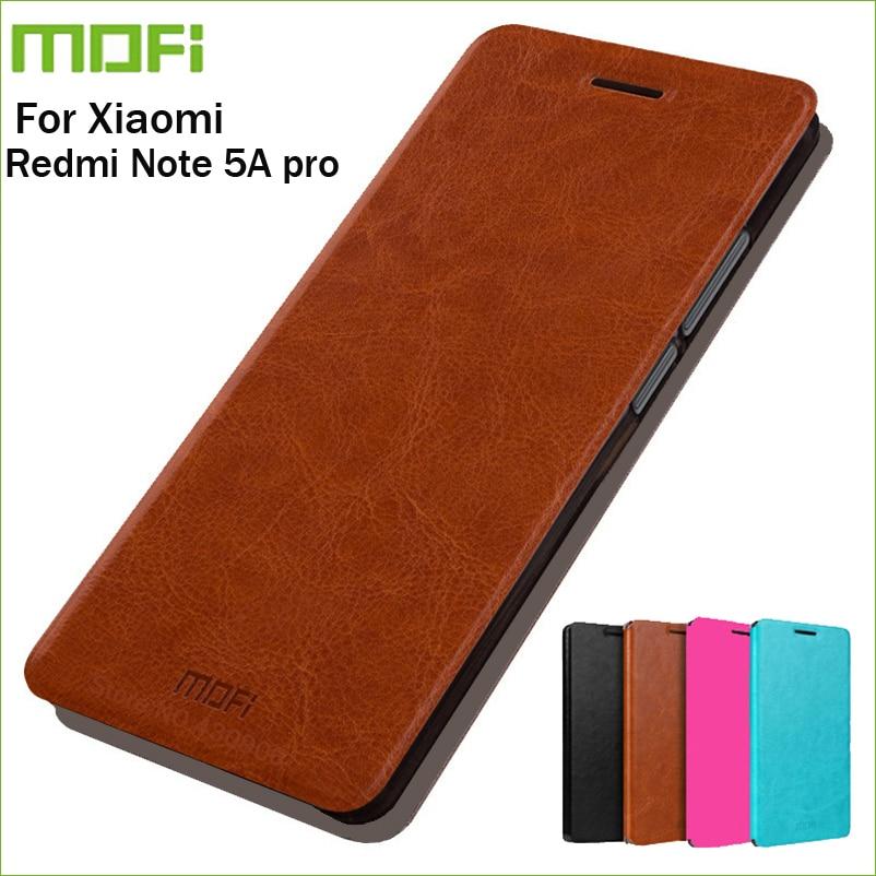 Para xiaomi redmi nota 5a caso mofi hight qualidade aleta caso carteira de couro caso suporte para xiaomi redmi nota 5a capa