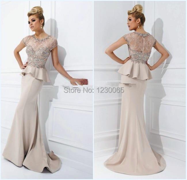 Vestido De Festa Luxury Long Evening Gown 2018 Formal Long Lace Abendkleider Custom Robe De Soiree Mother Of The Bride Dresses