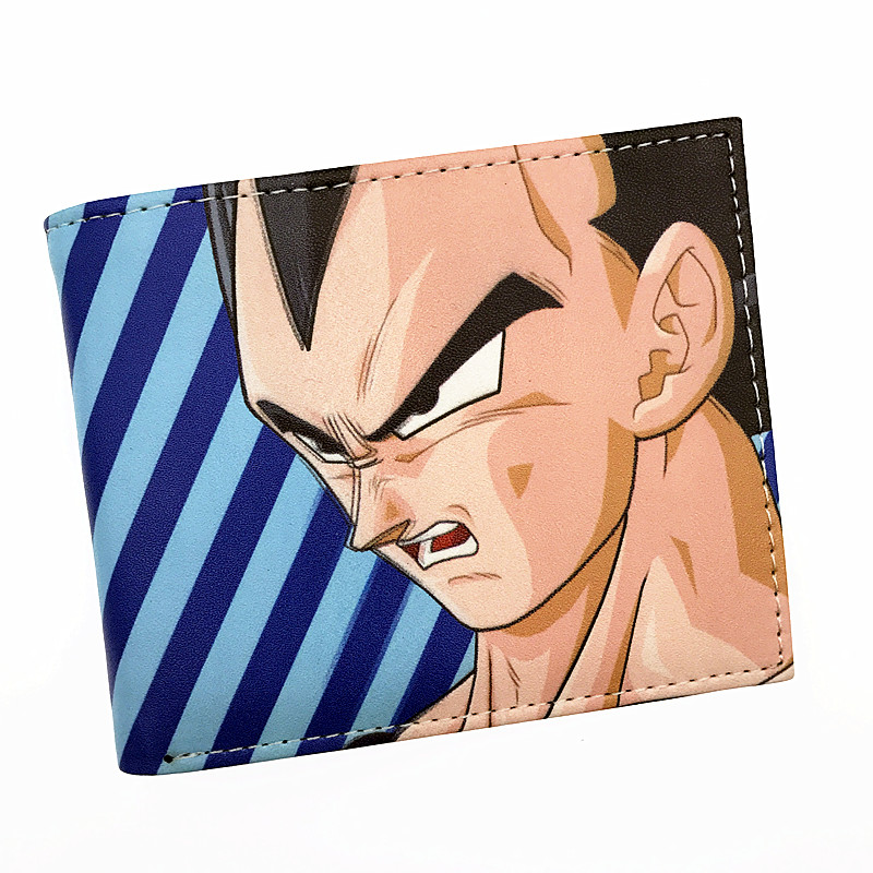 New Pu Short Men Wallet Anime Dragon Ball DC Comics Bombshells Guardians Of The Galaxy Purse With Card Holder