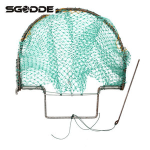 Image 2 - Outdoor Hunting 300mm/12inch Bird Net Effective Live Trap Hunting Sensitive Quail Humane Trapping Polyethylene Net + Steel Frame