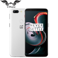 New Oneplus 5T 6GB / 8GB RAM 64GB / 128GB ROM Mobile Phone 4G LTE Snapdragon 835 Octa Core 6.01 Fingerprint Oneplus Smartphone