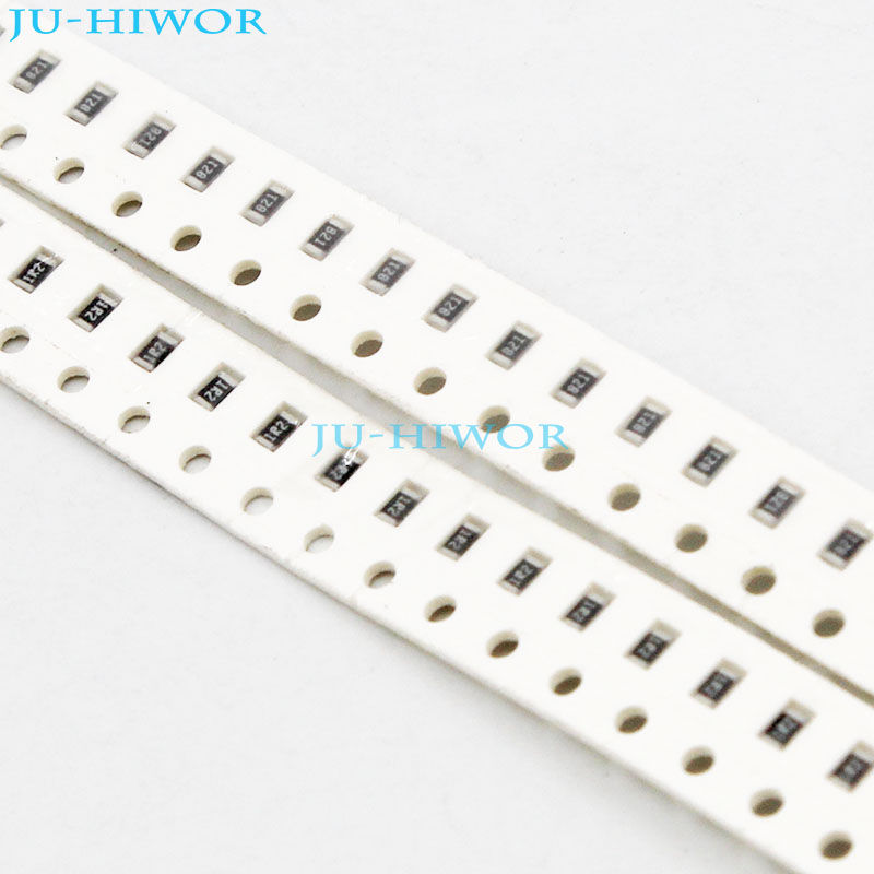 1000pcs lot 750 820 910 1K 1 2K ohm ohms 0805 5 SMD Chip Resistor