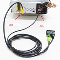 Для Passat Tiguan Touran USB + AUX Переключатель Подключите USB AUX Поверхность Корпус + Кабель Для RCD510 3CD 035 249 а