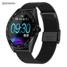 Senbono K7 IP68 Waterdicht Smart Horloge Hartslag Bloeddruk Sleep Monitor Mannen Sport Smartwatch Mode Fitness Tracker