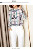 PS01725 женские модные блузки и рубашки для мальчиков 2019 взлетно посадочной полосы Роскошные европейский дизайн вечерние стиль