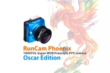 RunCam פניקס אוסקר מהדורה 1000tvl 1/3 סופר 120dB WDR מיני FPV מצלמה תמיכת OSD FC בקרת עבור RC מירוץ Drone   2.1mm