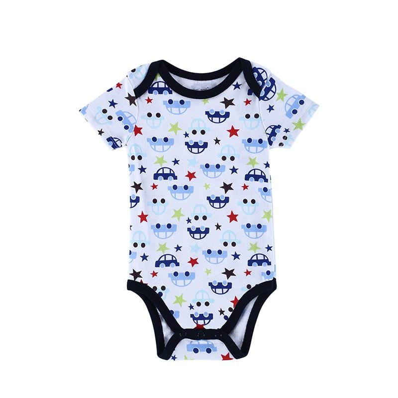 Babybody Nyfödda Kläder Kropp Kortärmad Flickor Boys Kläder - Babykläder
