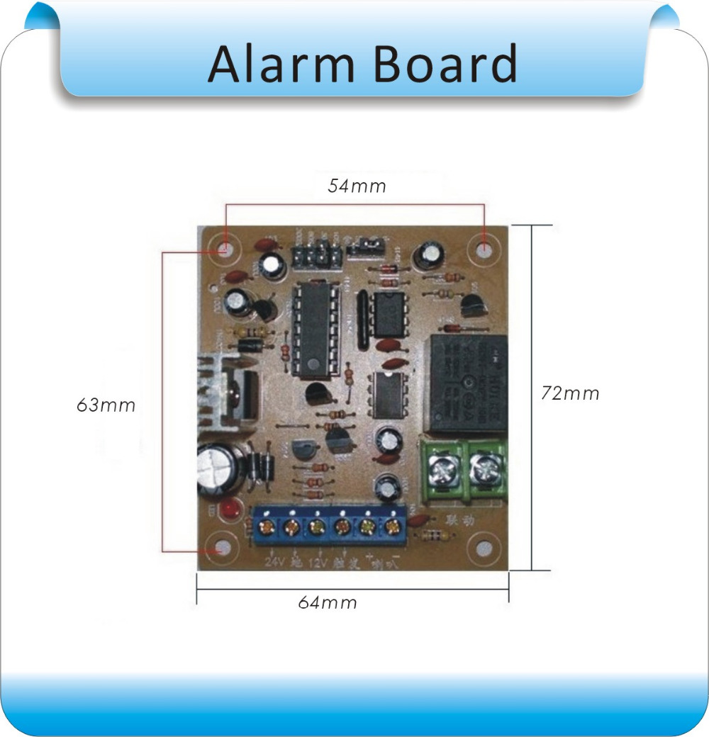 door house system burglar alarm security garage office shed itm home keypad wireless