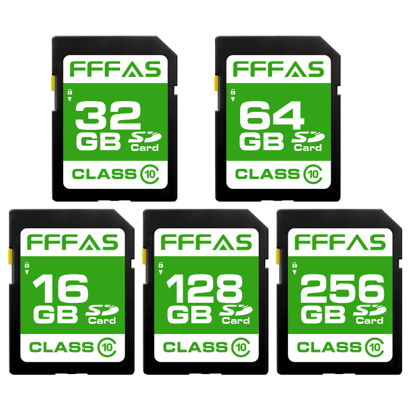 Creative SD Memory Card 16GB 32GB 64GB 128GB 256GB Class 10 30MB/S C10 UHS-I SD Card 8GB SDHC SDXC for PC/CAMERA(China)