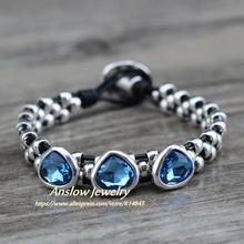 Anslow хит продаж брендовые винтажные браслеты ручной работы
