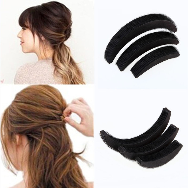 2018 New Fashion Heightening Punta Hair Bangs Hair Pad Combination Increased Puff Paste Hair Style Accessories
