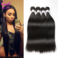 Brazilian Virgin Hair Straight 4 Bundles 100 Human Hair Weave 7A Unprocessed Virgin Brazilian Straight Hair Weave Bundles