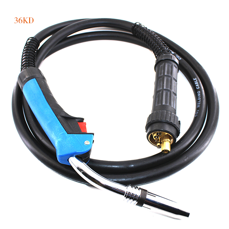 Best Selling BINZEL 36KD welding torch/welder gun for MIG MAG C02 inverter DC Mosfet or IGBT welding machine/welding equipment new 220v welding tools igbt inverter dc mma welder machine equipment device suitable 2 0 electrode with accessory and eyes mask