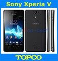 "Original Sony Xperia V/LT25i teléfono móvil Dual core 4.3 ""13MP 3G y 4G 1G + 8G de Sony LT25i Android teléfono Inteligente dropshopping"