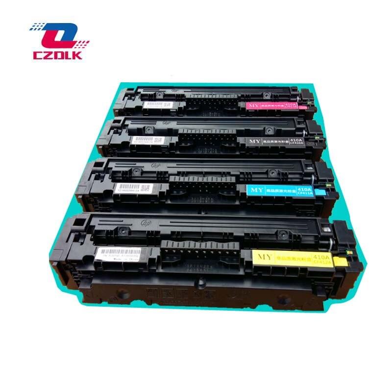 New compatible CF410A CF411A CF412A CF413A Toner Cartridge for HP LaserJet pro M452DW M452DN M452NW M477FDW M477FNW