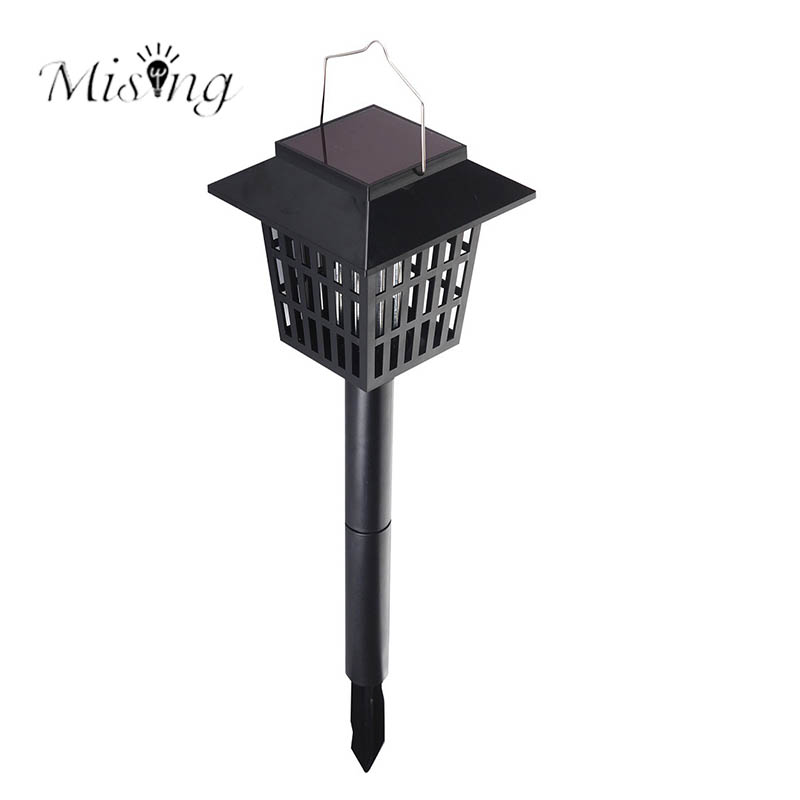 Mising AGD-11 Garden Solar Power LED Mosqutio Killer Lamp Waterproof Auto Lawn Yard Light for Ourdoor Camping Mosquito Killer