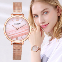 Top Brand Luxury Women Rose Gold Bracelet Dress Watches For Women Fashion Malachite Pink Dial Stainless Steel Band Quartz Clock цена и фото