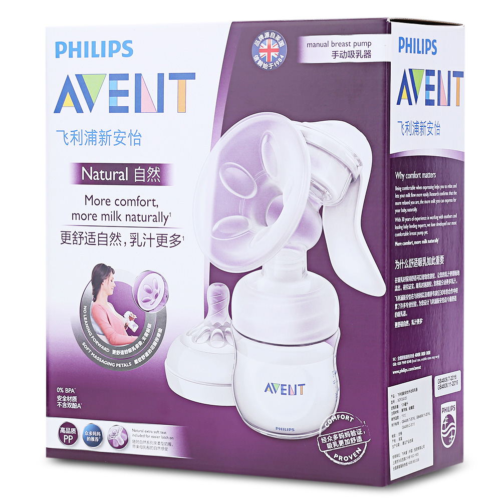Aventi breast pump