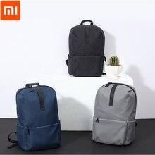 2017 Original Xiaomi Modeschule Backapck 600D Polyester Beständigen Wasserdichten Anzug Für 15,6 Zoll Laptop Computer