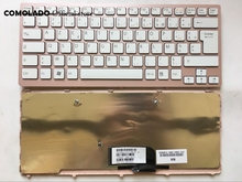 FR French Keyboard For Sony Vaio VPC-CW VPC CW VPCCW CW16EC CW18FC pink Frame Laptop Keyboard FR Layout все цены