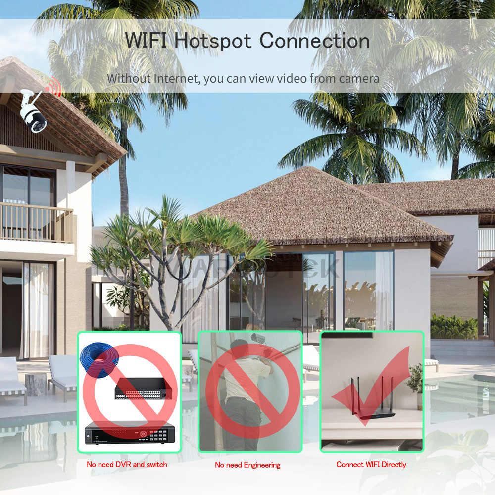 Беспроводная ip-камера Wifi 1080 P Домашняя безопасность видеонаблюдение камера видеонаблюдения наружная водостойкая мини-камера HD 720 P P2P ONVIF IR