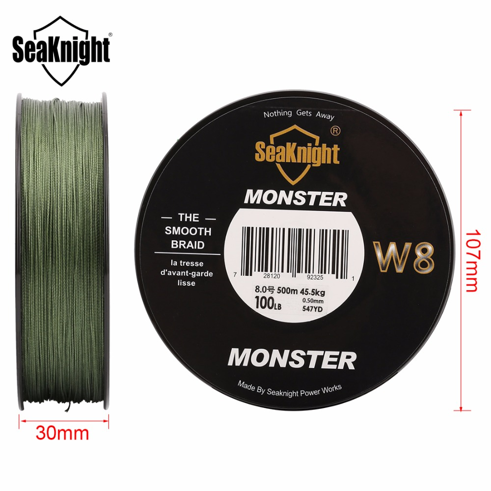 Image 4 - New Super 8 Strands 500M Wide Angle Technology PE Braided Fishing Line 15LB/6.8KG Wire Rope For Sea Carp Fishing 4 Colors-in Fishing Lines from Sports & Entertainment