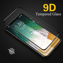 9D Tempered film For Apple iphone 6 7 8 PLUS Protective Glass Plus on Film plus