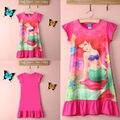 Niñas bebés Niños Sirenita Ariel Vestido de Pijamas Camisón camisón Ropa de Dormir