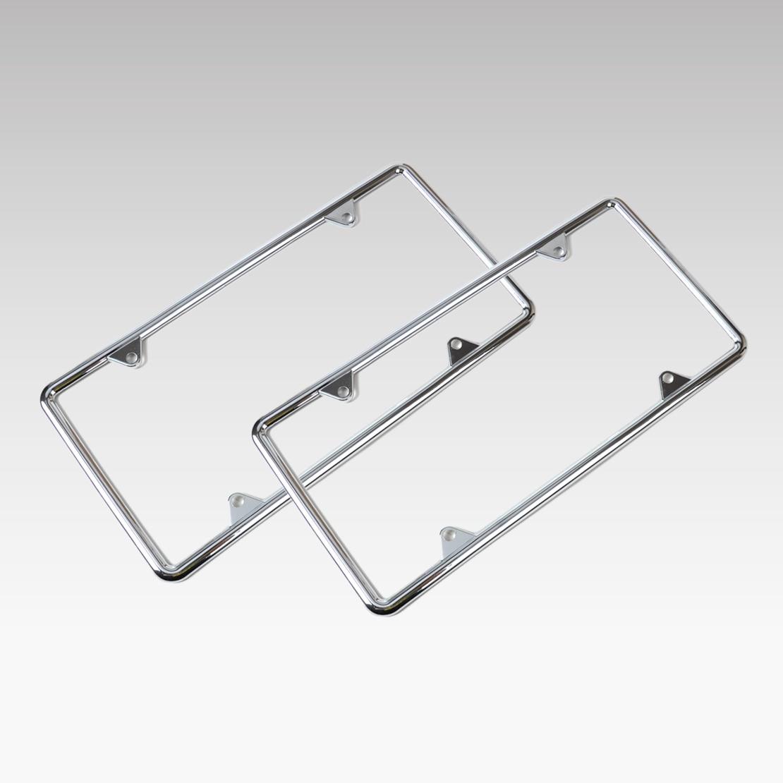 0 DWCX Chrome License Plate Frame Combination For Audi Q5 BMW F10 VW ...
