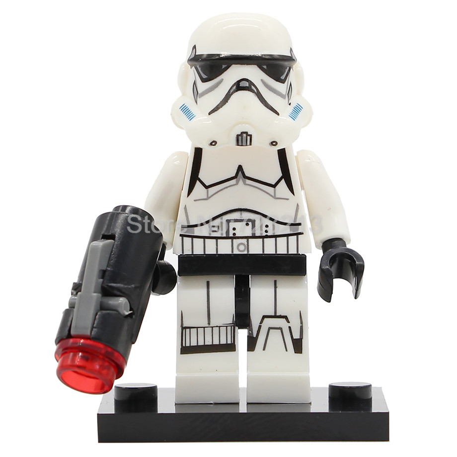 Star Wars Shadow ARF Clone Fox Wolfpack Trooper Figure Shock Storm Sand Death Jek-14 Snowtrooper Building Block Model Toys
