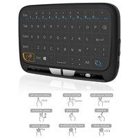 H18 Fly Air Chuột Bàn Phím 2.4 Ghz Bàn Phím Không Dây và Touchpad Combo cho Android TV Box, PC, HTPC, IPTV, XBOX 360, PS3, PS4