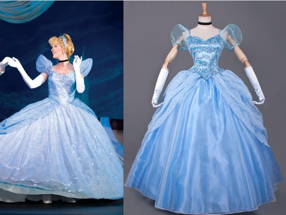 New Arrival Princess Cinderella Dress Movie Costume Dress
