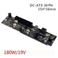 Realan DC DC ATX NETZTEIL 17 v-24 V 19 V 180 Watt ATX Pico Schalter Pico NETZTEIL 24pin MINI-ITX DC zu Auto ATX Pc-netzteil Für PC Computer