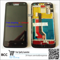 100% Original New LCD Display +touch screen digitizer with frame for Huawei Ascend D1 U9500 Completely Assembly Free Shipping
