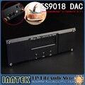 ES9018 terminou + 2 * Talema transformador + MUSES8920 * 2 + AD797 * 2 decodificador DAC, apoio XMOS USB U8 & Amanero IIS-32Bit/384 K