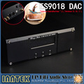 Finished ES9018 + 2*Talema transformer  + MUSES8920*2 + AD797*2 DAC decoder, Support XMOS U8 & Amanero IIS USB - 32Bit/384K